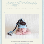 Lauren K Photography Website